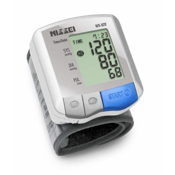 Тонометр автоматичний на зап'ясток – Nissei WS-820