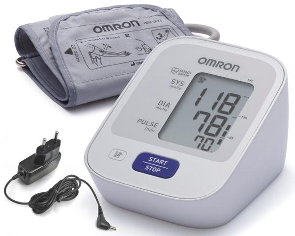 Тонометр автоматичний OMRON M2 Basic збільшена манжета