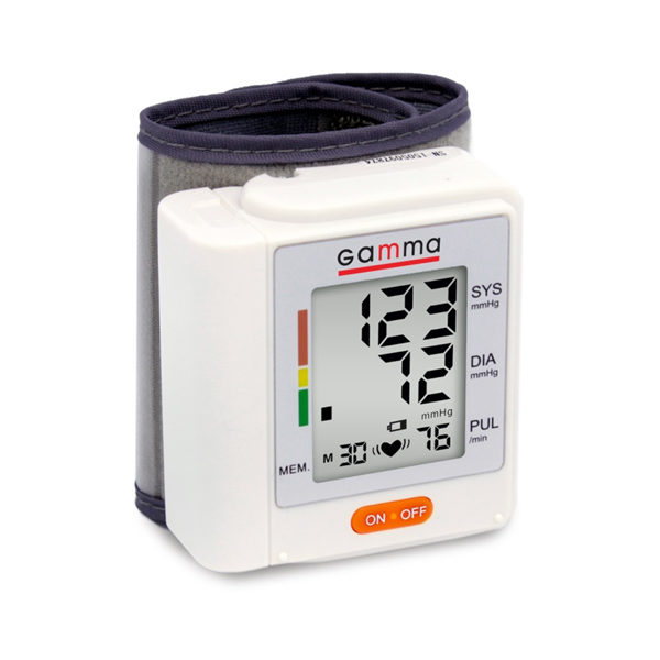 Автоматичний тонометр на зап'ястя – Gamma Active