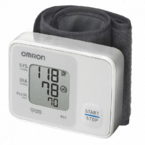 Автоматичний тонометр з манжетою на зап'ястя – OMRON RS1