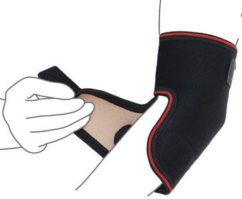 Бандаж на ліктьовий суглоб (роз'ємний) – R9205