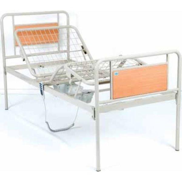 Функціональне ліжко з електромотором металеве