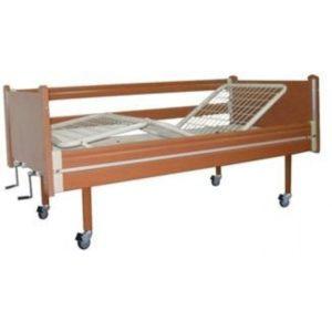 Трьохсекційне ліжко дерев'яне