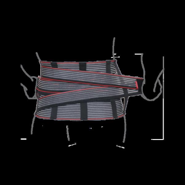 Корсет підтримуючий з додатковою фіксацією R4204
