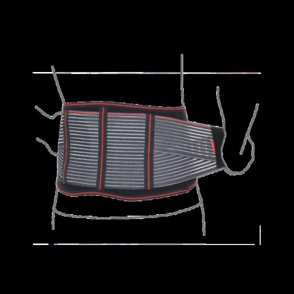 Пояс підтримуючий з нирковими пелотами R3201