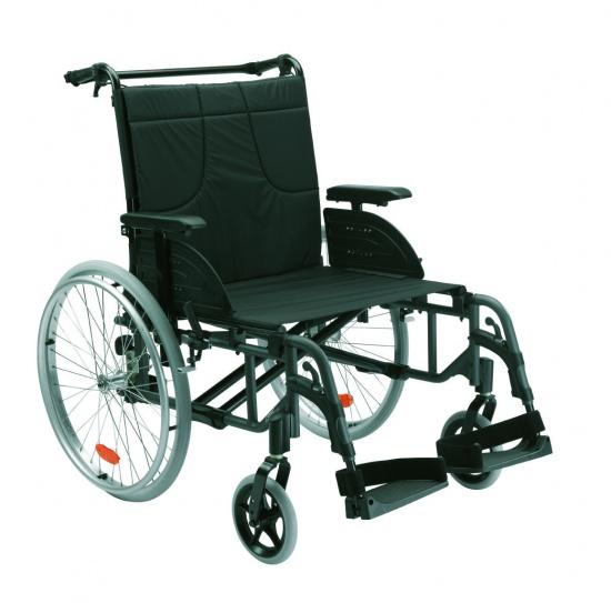 Полегшена ПОСИЛЕНА інвалідна коляска Action 4 NG HD – 50,5 см – Invacare