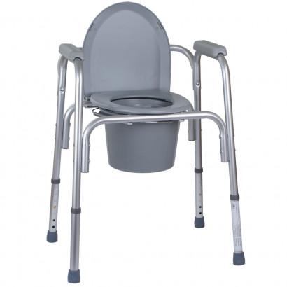 Алюмінієвий стілець-туалет 3 в 1 OSD-BL730200