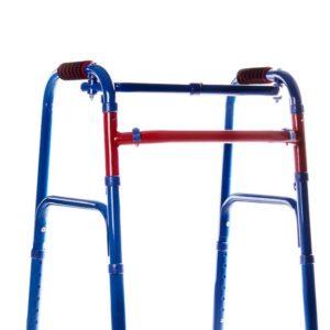 Ходунки-рамки складані, регульовані за висотою крокуючі дитячі кольорові – MEDOK