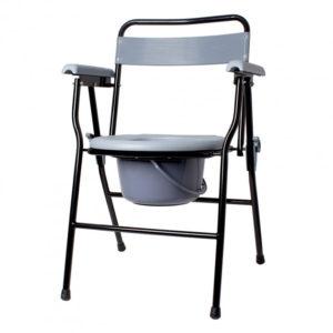 Крісло-туалет з санітарним оснащенням нерегульоване складне Ridni KJT710B