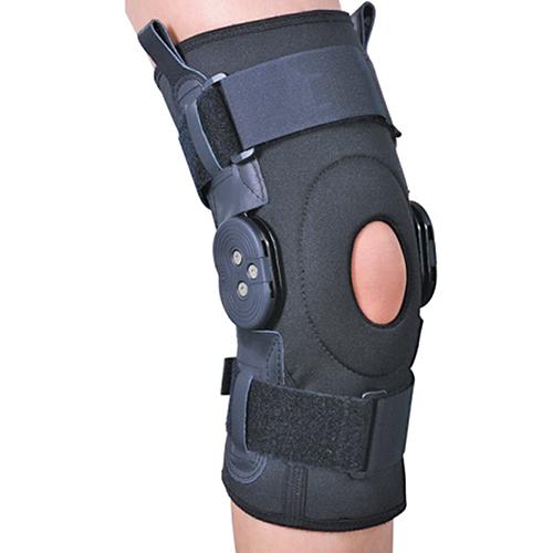 Ортез на колінний суглоб зі спеціальними шарнірами для регулювання кута згинання ES-797 Ortop