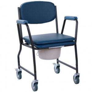 Крісло-каталка з санітарним оснащенням