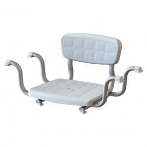 Сидіння для ванни зі спинкою