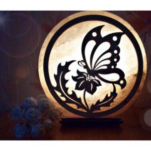 """Соляна лампа """"Метелики щасливі"""""""