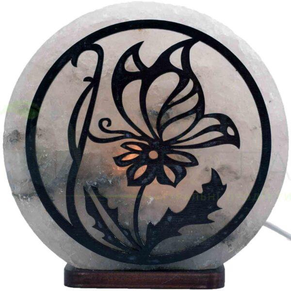 "Соляна лампа ""Метелики щасливі"" 3-4кг"