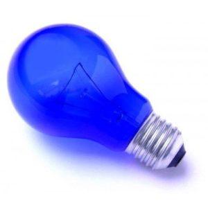 Лампа до рефлектора Мініна синя