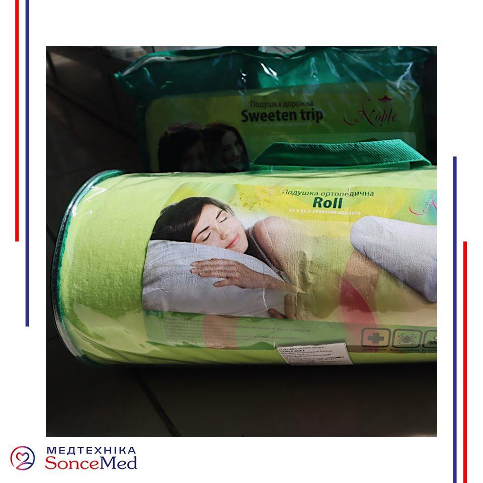 Різновиди ортопедичних подушок