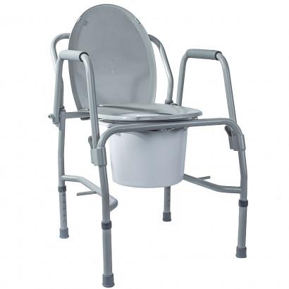 Стілець-туалет з відкидними підлокітниками OSD-2106D