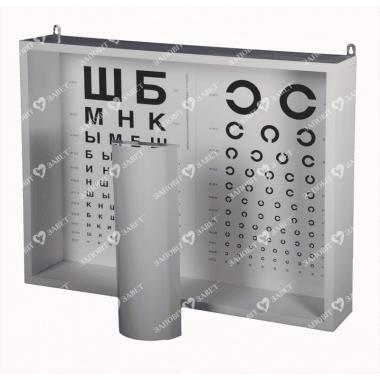 Набір таблиць для провірки зору  АР-1М
