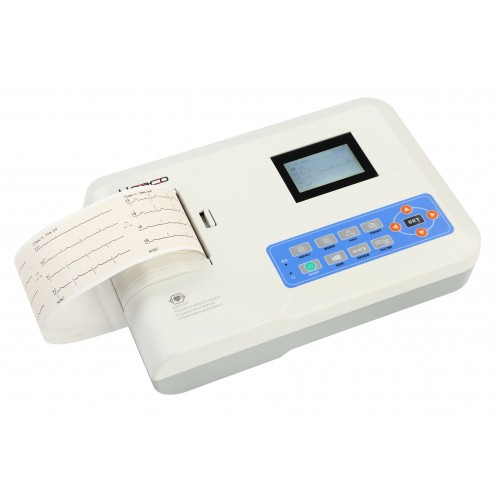 Електрокардіограф 3-х канальний Heaco 300G